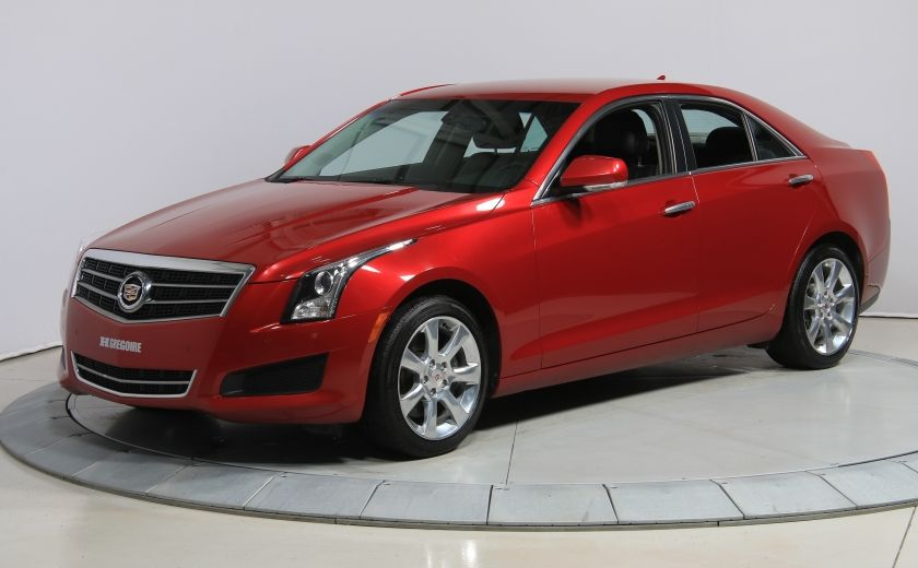 2013 Cadillac ATS Luxury AWD CUIR MAGS BLUETOOTH #2