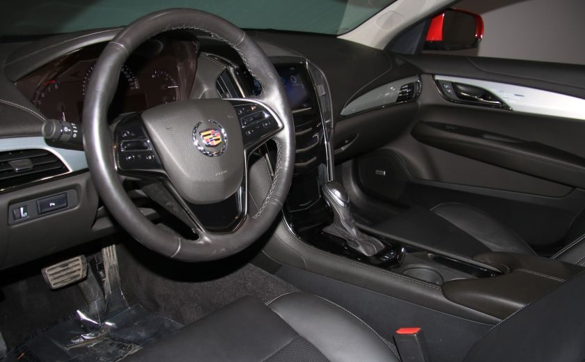 2013 Cadillac ATS Luxury AWD CUIR MAGS BLUETOOTH #8