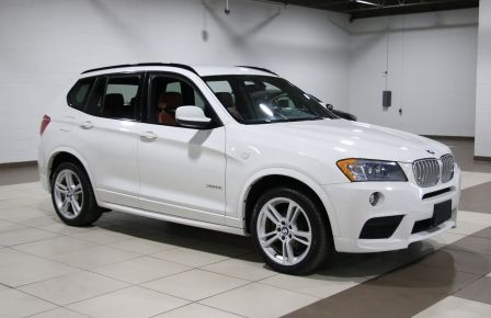 2014 BMW X3 xDrive35i AWD CUIR MAGS BLUETOOTH #0