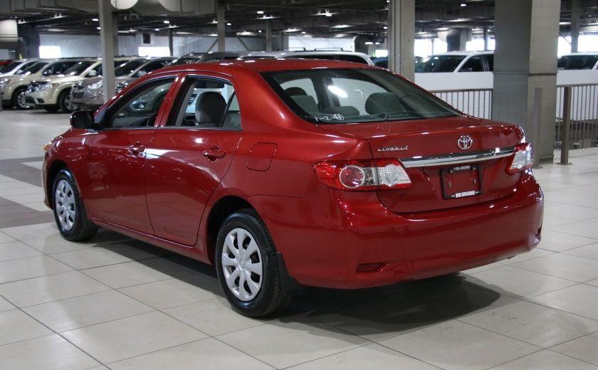2013 Toyota Corolla CE A/C #4