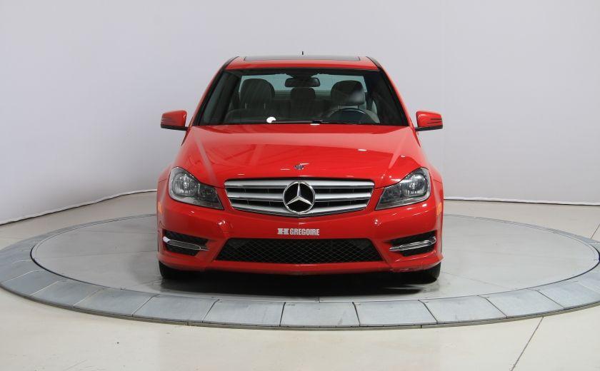 2013 Mercedes Benz C300 4MATIC AUTO CUIR TOIT MAGS BLUETOOTH #1