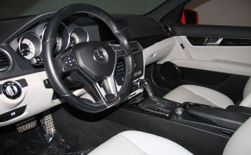 2013 Mercedes Benz C300 4MATIC AUTO CUIR TOIT MAGS BLUETOOTH #5