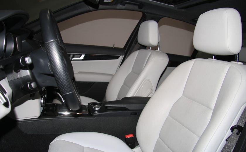 2013 Mercedes Benz C300 4MATIC AUTO CUIR TOIT MAGS BLUETOOTH #6