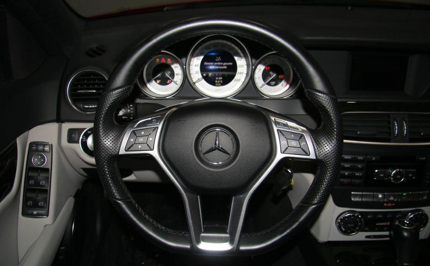 2013 Mercedes Benz C300 4MATIC AUTO CUIR TOIT MAGS BLUETOOTH #12