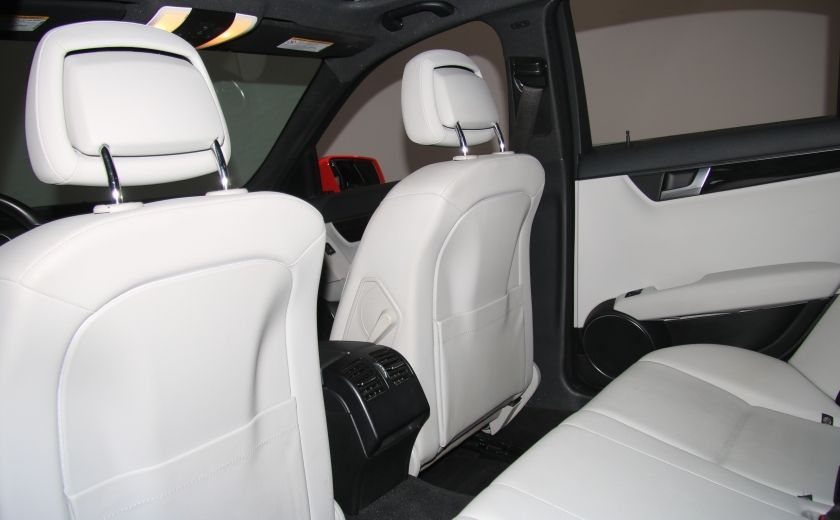 2013 Mercedes Benz C300 4MATIC AUTO CUIR TOIT MAGS BLUETOOTH #16