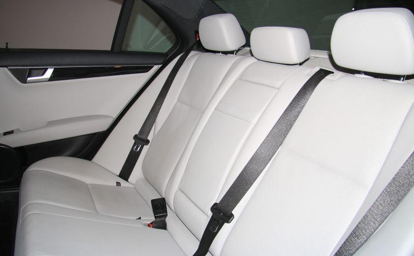 2013 Mercedes Benz C300 4MATIC AUTO CUIR TOIT MAGS BLUETOOTH #17