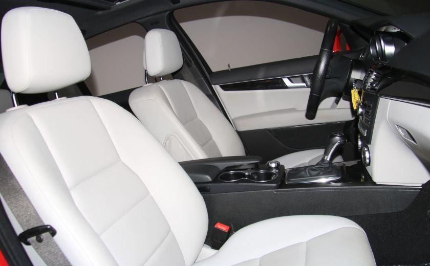 2013 Mercedes Benz C300 4MATIC AUTO CUIR TOIT MAGS BLUETOOTH #22