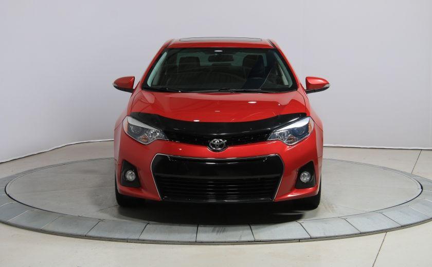 2014 Toyota Corolla S CVT CUIR-TISSUS TOIT BLUETOOTH HID #34