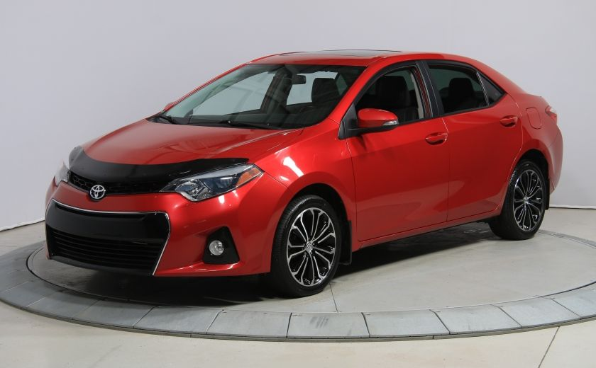 2014 Toyota Corolla S CVT CUIR-TISSUS TOIT BLUETOOTH HID #35
