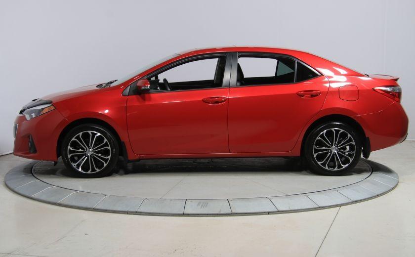 2014 Toyota Corolla S CVT CUIR-TISSUS TOIT BLUETOOTH HID #36