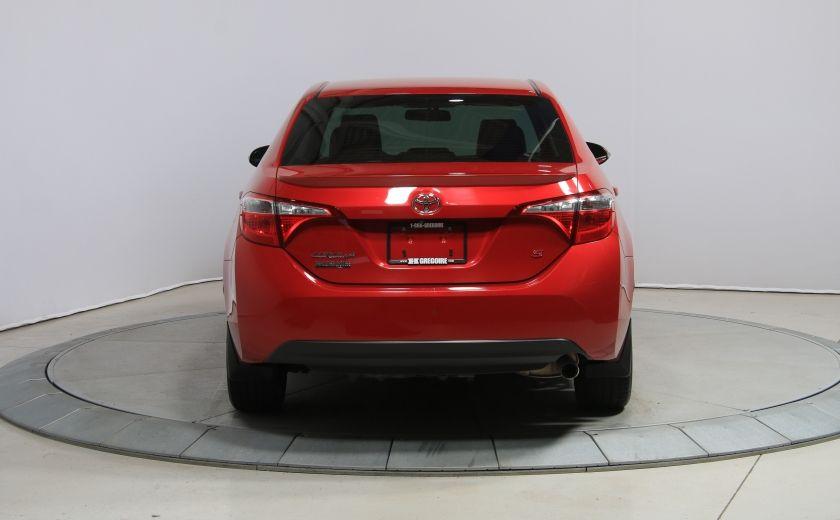 2014 Toyota Corolla S CVT CUIR-TISSUS TOIT BLUETOOTH HID #38
