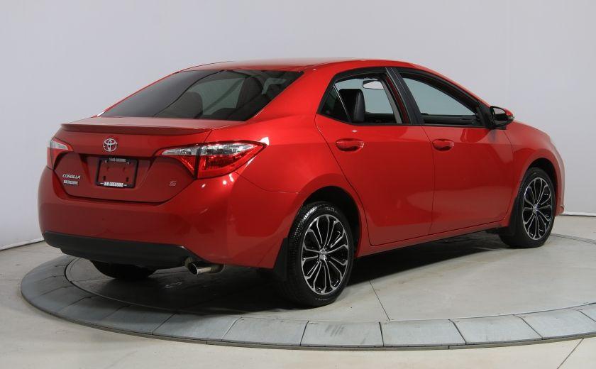 2014 Toyota Corolla S CVT CUIR-TISSUS TOIT BLUETOOTH HID #39