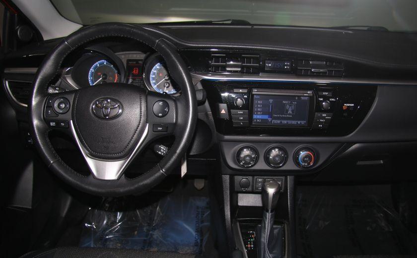 2014 Toyota Corolla S CVT CUIR-TISSUS TOIT BLUETOOTH HID #46