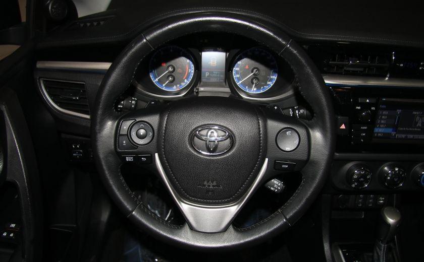 2014 Toyota Corolla S CVT CUIR-TISSUS TOIT BLUETOOTH HID #47