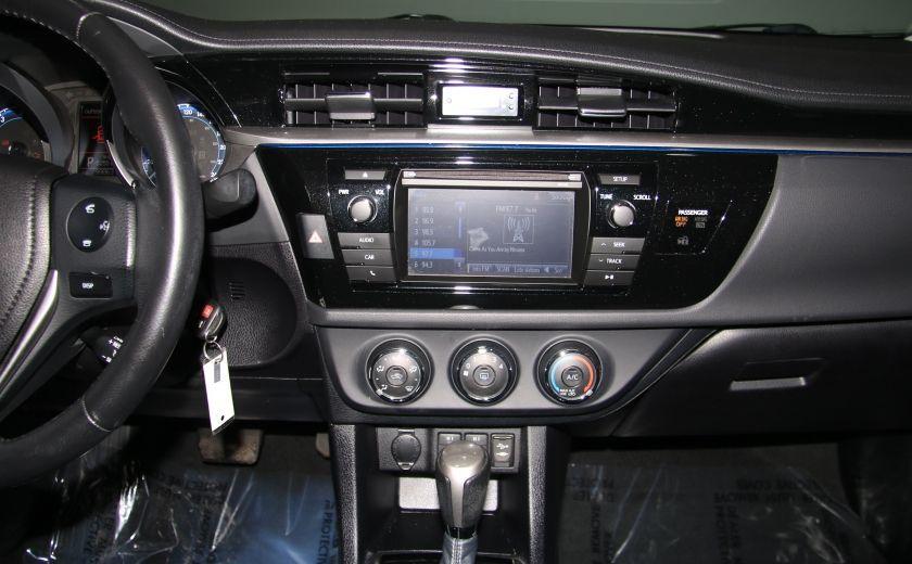 2014 Toyota Corolla S CVT CUIR-TISSUS TOIT BLUETOOTH HID #48