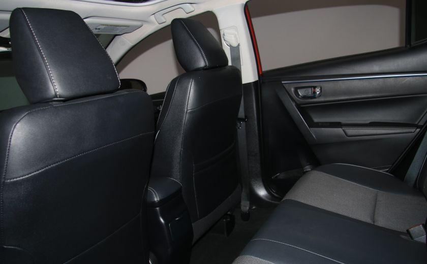 2014 Toyota Corolla S CVT CUIR-TISSUS TOIT BLUETOOTH HID #52