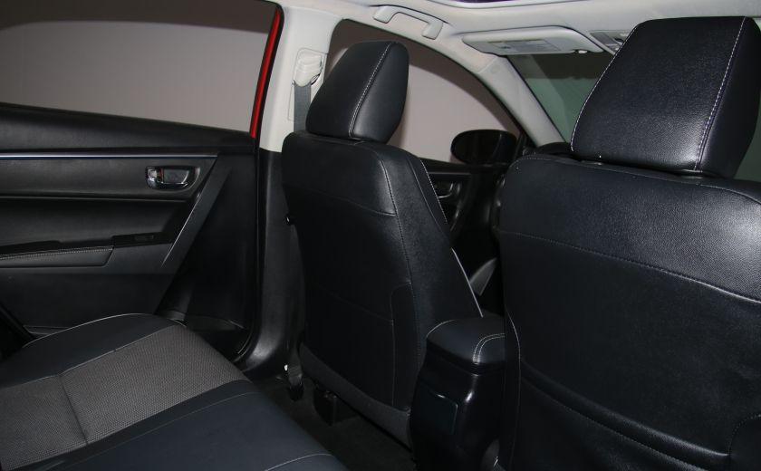 2014 Toyota Corolla S CVT CUIR-TISSUS TOIT BLUETOOTH HID #54