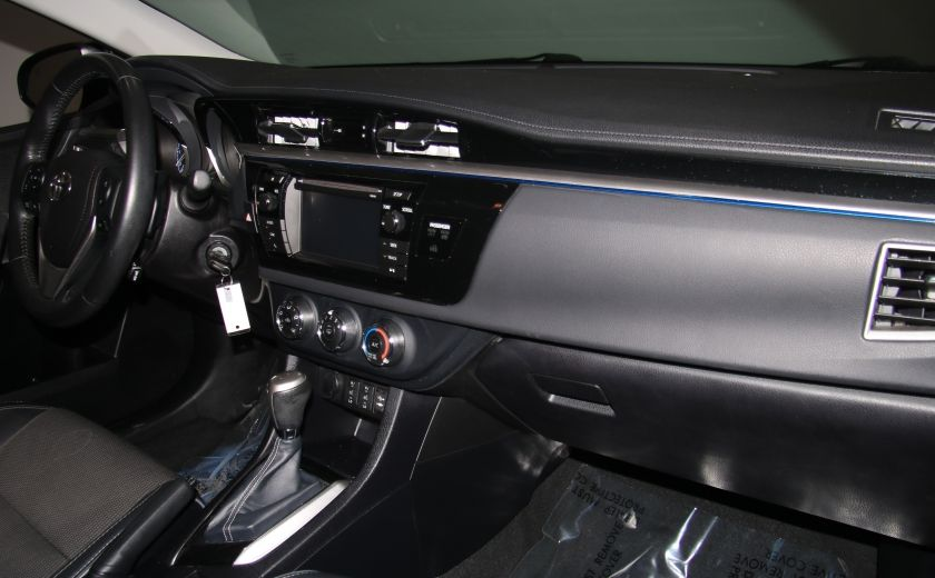 2014 Toyota Corolla S CVT CUIR-TISSUS TOIT BLUETOOTH HID #56