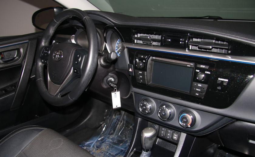 2014 Toyota Corolla S CVT CUIR-TISSUS TOIT BLUETOOTH HID #57