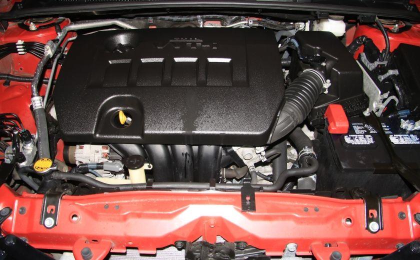2014 Toyota Corolla S CVT CUIR-TISSUS TOIT BLUETOOTH HID #59
