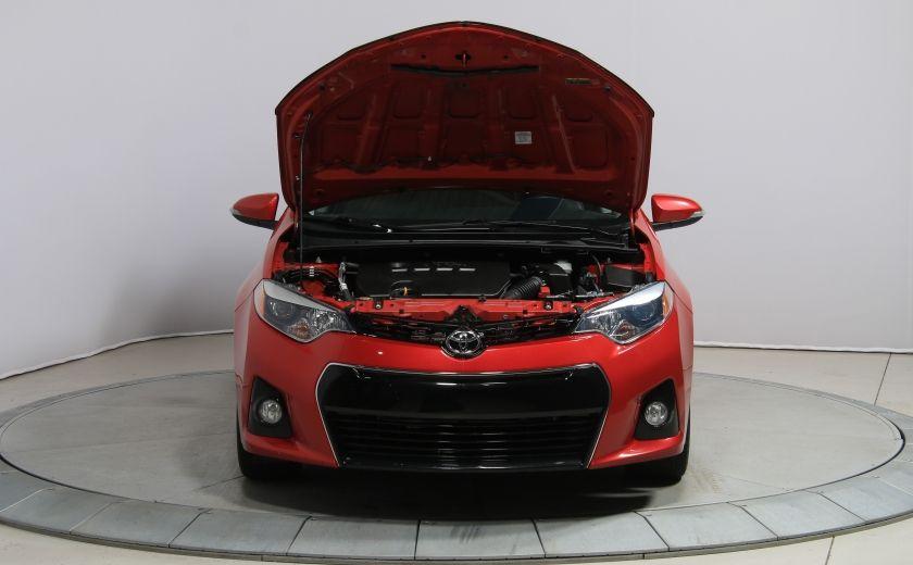 2014 Toyota Corolla S CVT CUIR-TISSUS TOIT BLUETOOTH HID #60