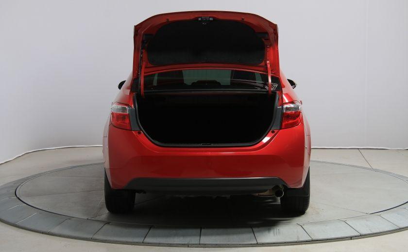 2014 Toyota Corolla S CVT CUIR-TISSUS TOIT BLUETOOTH HID #61