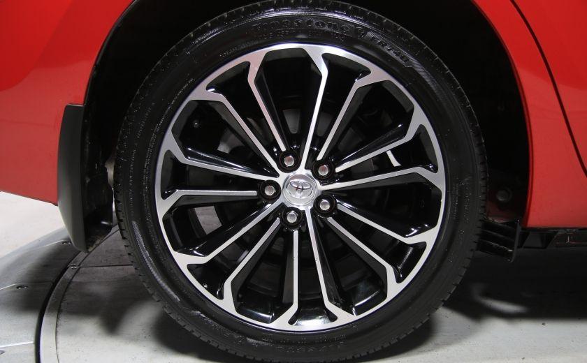 2014 Toyota Corolla S CVT CUIR-TISSUS TOIT BLUETOOTH HID #64