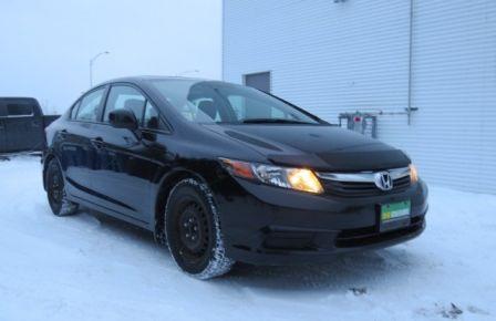 2012 Honda Civic EX ET PNEUS D HIVER INCLUS #0