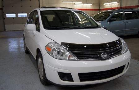 2012 Nissan Versa 1.8 SL Toit ouvrant - Automatique à Îles de la Madeleine