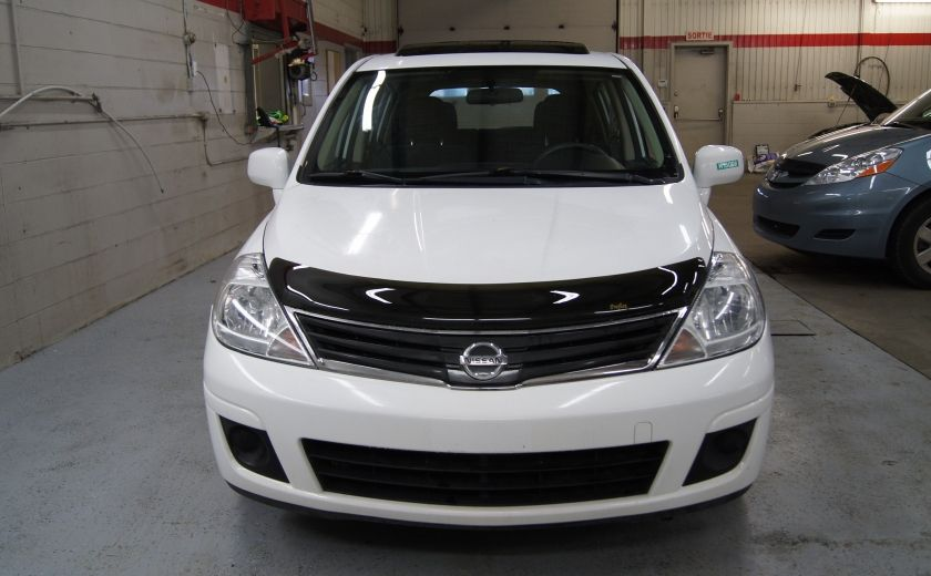 2012 Nissan Versa 1.8 SL Toit ouvrant - Automatique #3