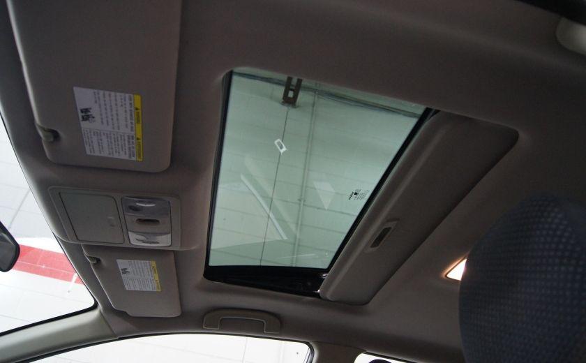 2012 Nissan Versa 1.8 SL Toit ouvrant - Automatique #11