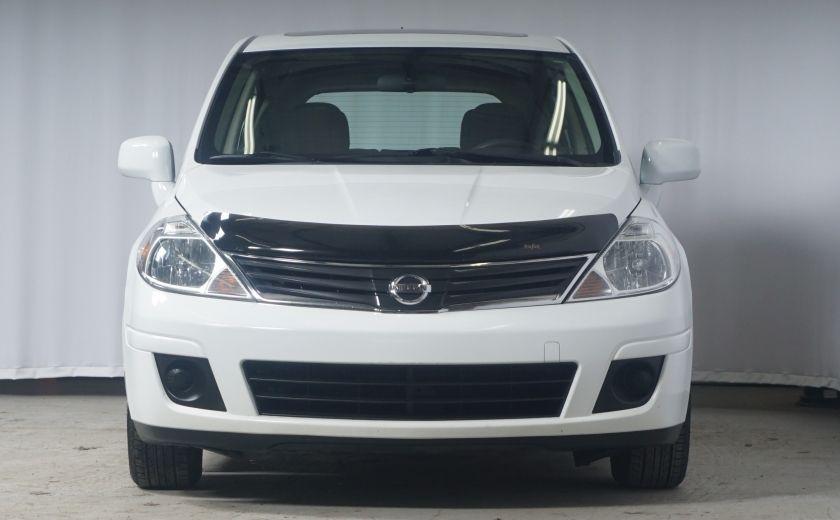 2012 Nissan Versa 1.8 SL Toit ouvrant - Automatique #1