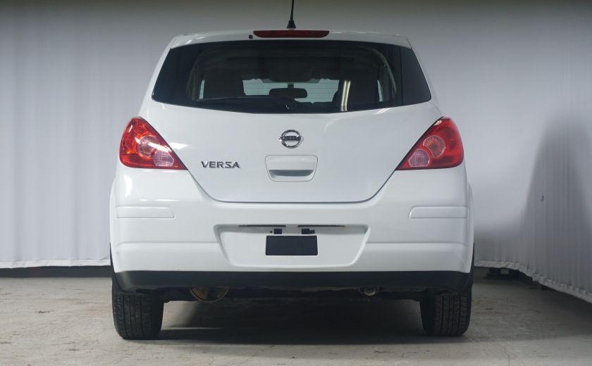 2012 Nissan Versa 1.8 SL Toit ouvrant - Automatique #4
