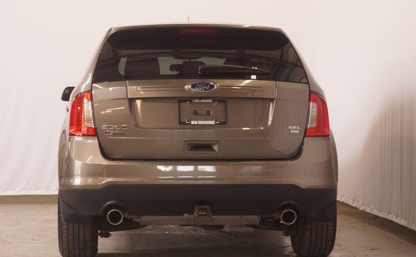 2013 Ford EDGE SEL NAV TOIT CUIR ROUE ET PNEUS HIVER INCLUS #8
