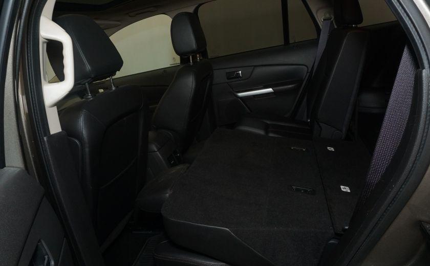 2013 Ford EDGE SEL NAV TOIT CUIR ROUE ET PNEUS HIVER INCLUS #16