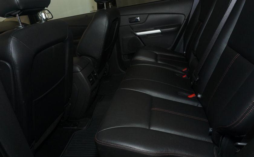 2013 Ford EDGE SEL NAV TOIT CUIR ROUE ET PNEUS HIVER INCLUS #18