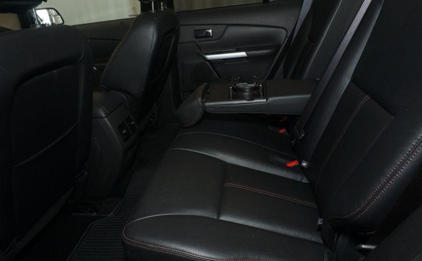 2013 Ford EDGE SEL NAV TOIT CUIR ROUE ET PNEUS HIVER INCLUS #19