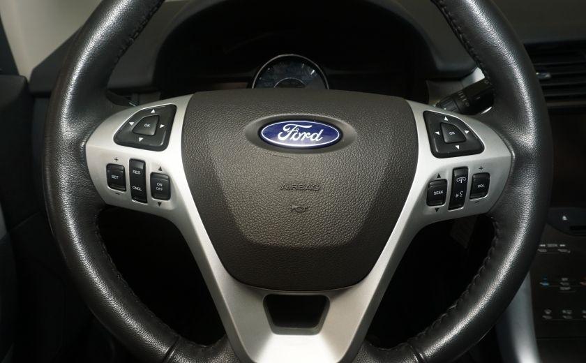 2013 Ford EDGE SEL NAV TOIT CUIR ROUE ET PNEUS HIVER INCLUS #26