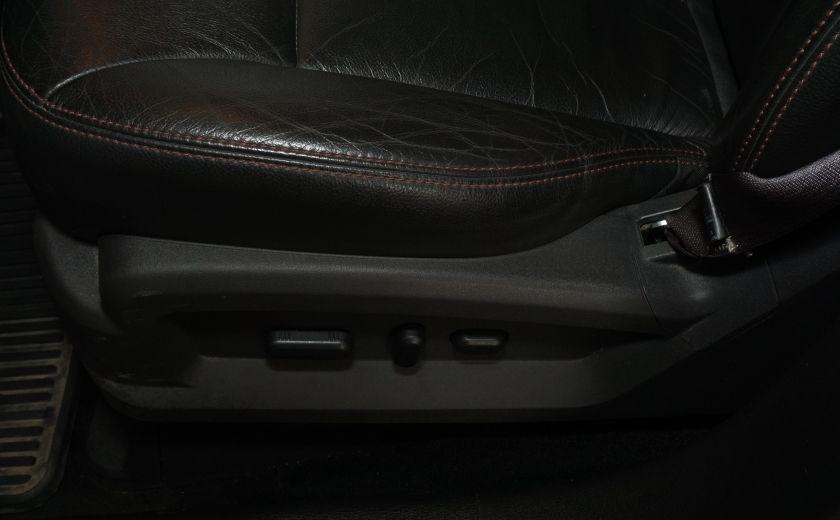 2013 Ford EDGE SEL NAV TOIT CUIR ROUE ET PNEUS HIVER INCLUS #36