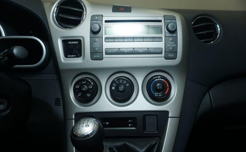 2009 Toyota Matrix 4dr Wgn Man FWD #16