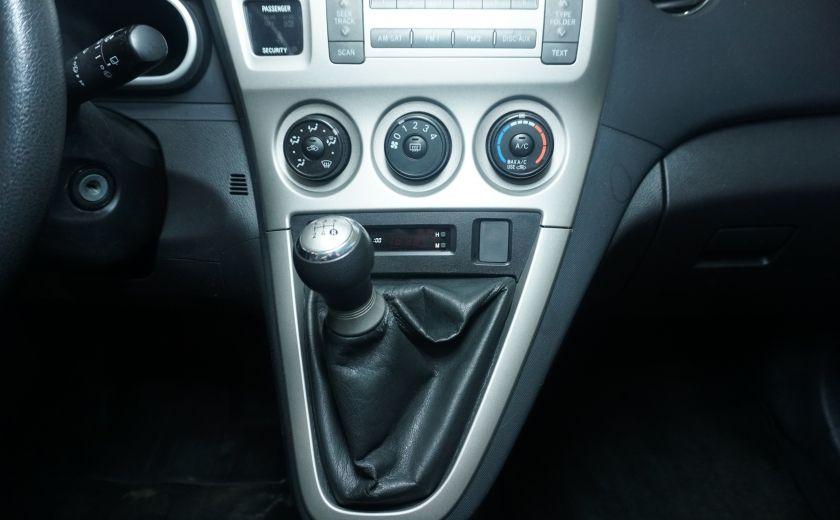 2009 Toyota Matrix 4dr Wgn Man FWD #17
