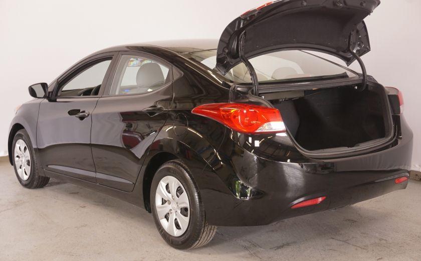 2011 Hyundai Elantra GL MILLAGE EXCEPTIONEL #12