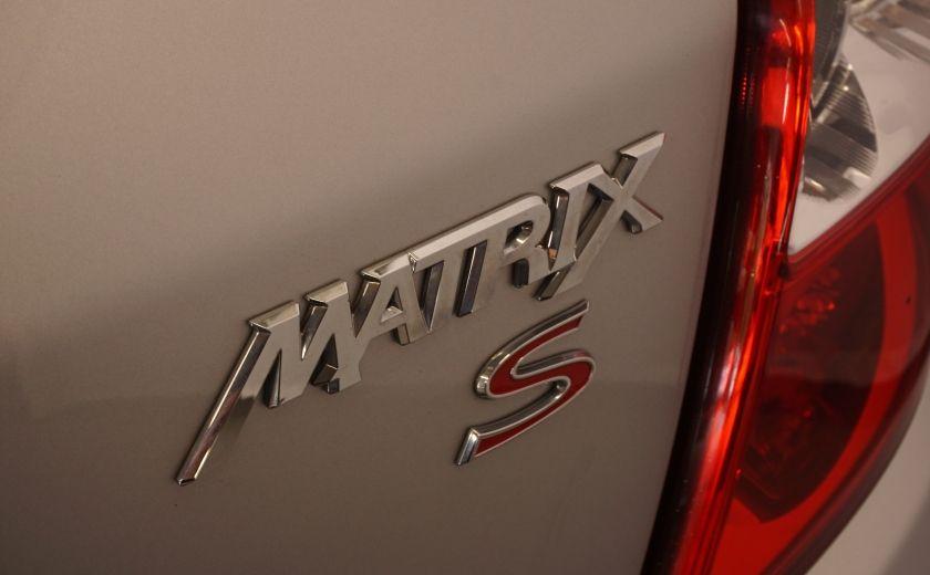 2012 Toyota Matrix CUIR TOIT #11