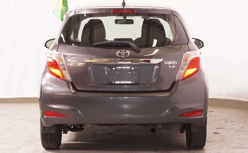 2013 Toyota Yaris LE,  AIR GR ELECTRIQUE #5