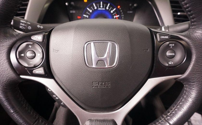 2012 Honda Civic EX TOIT  ELECTRIQUE AUTOMATIQUE #4