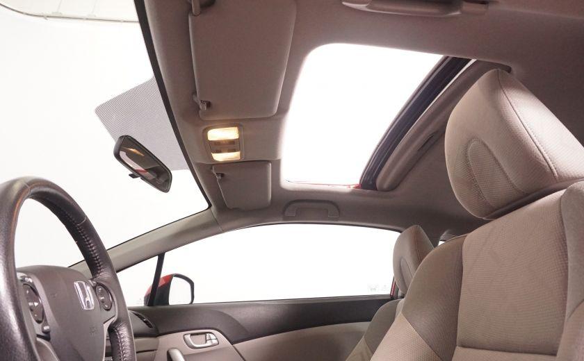 2012 Honda Civic EX TOIT  ELECTRIQUE AUTOMATIQUE #6