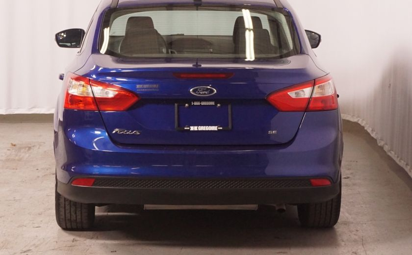 2012 Ford Focus SE AUTO GR ÉLECTRIQUE #5