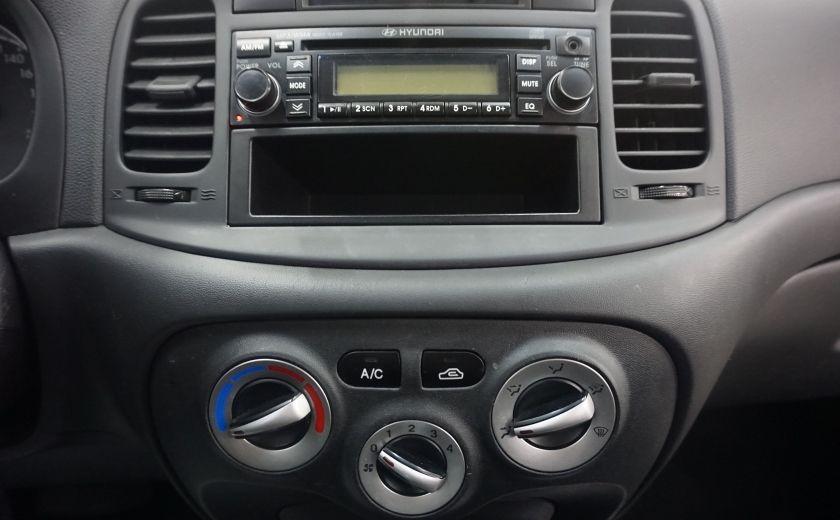 2010 Hyundai Accent GL w/Sport Pkg AUTO TOIT ELECTRIQUE AIR #4
