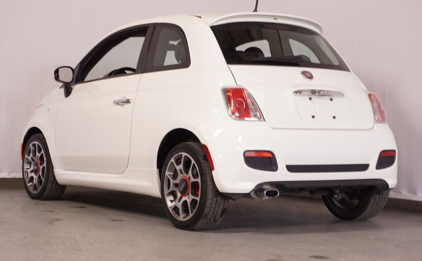 2015 Fiat 500 Sport AUTO GR ÉLECTRIQUE #4