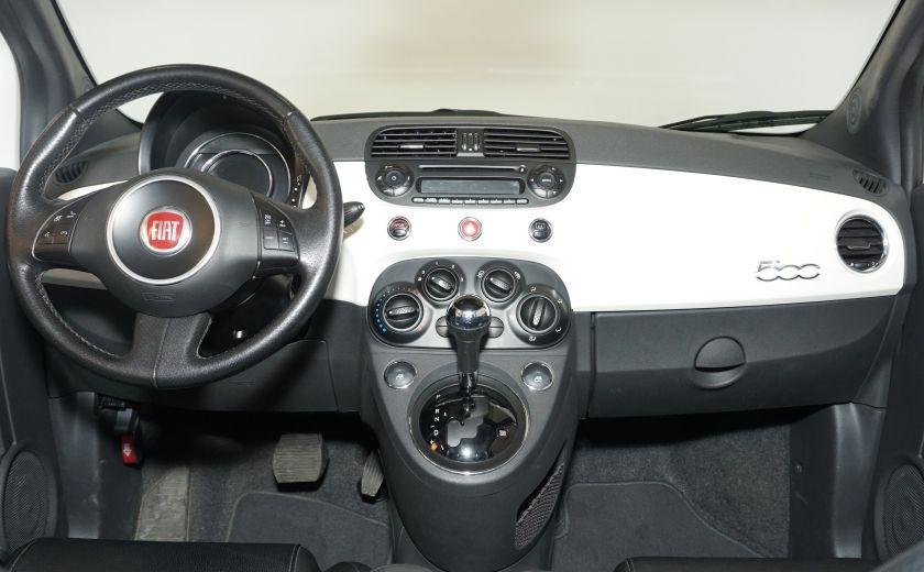 2015 Fiat 500 Sport AUTO GR ÉLECTRIQUE #9